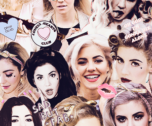 marina and the diamonds and Collage image