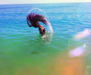 beach, colors, and cool image