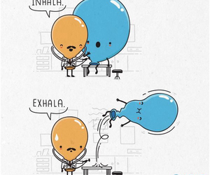 funny, ballons, and doctor image