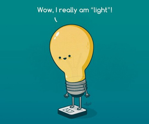 funny, light, and weight image
