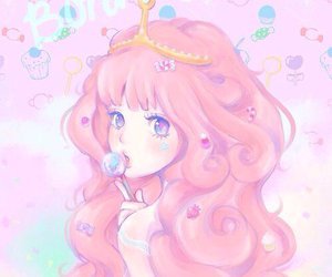 pink, adventure time, and anime image