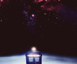 doctor who, stars, and tardis image