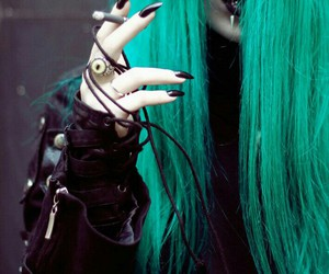 black and goth image