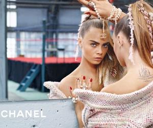 chanel, cara delevingne, and model image