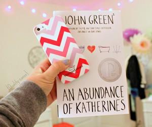book, john green, and iphone image