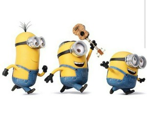 guitar and minions image
