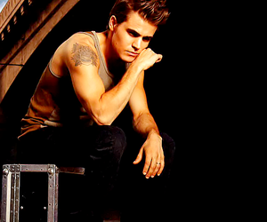 paul wesley, the vampire diaries, and boy image