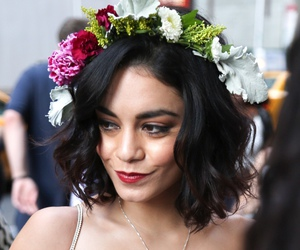 vanessa hudgens and flowers image