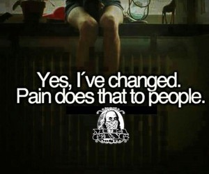 pain, change, and quote image