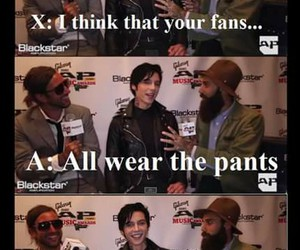 fans, funny, and pants image