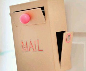 box, diy, and mail image