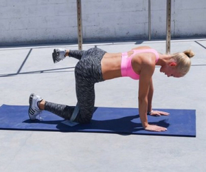 abs, exercises, and squats image