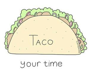 taco and overlay image