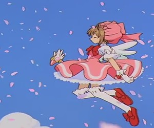 sakura card captor and sakura kinomoto image
