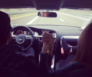couple, audi, and love image