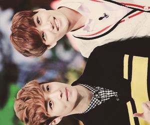 exo, lay, and kai image