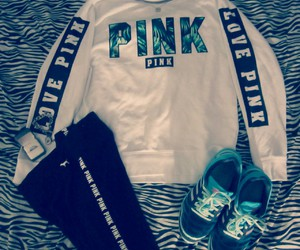 athletic, pink, and style image