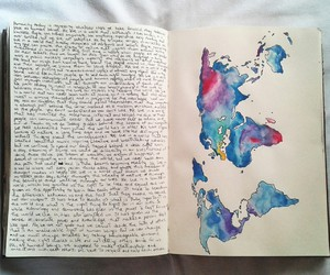 journal, art, and world image