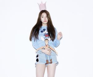 beauty, kpop, and long hair image
