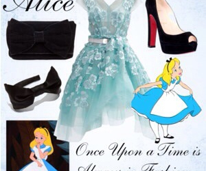 alice, outfit, and princess image