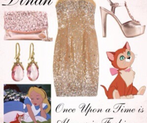 alice, outfit, and cartoon image