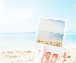 beach, sea, and summer image