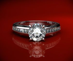 cartier, engagement, and ring image