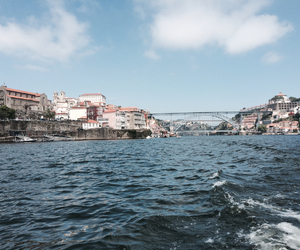 holiday, portugal, and river image