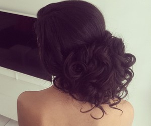 girl, hair, and Prom image