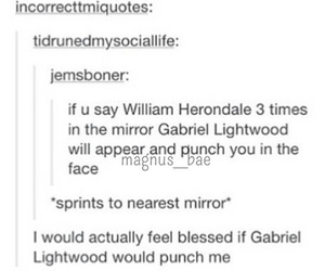 ducks, will herondale, and gabriel lightwood image