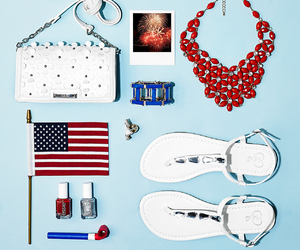 fashion, patriotic, and blue image
