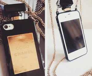 iphone, chanel, and perfume image
