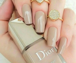 dior, nail art, and love it image