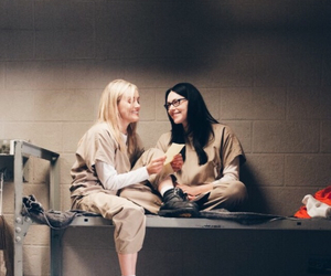 oitnb, orange is the new black, and vauseman image