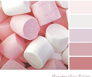 color palette, marshmellow, and colors image