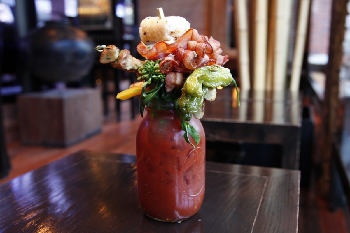 caesar, drink, and food image