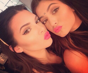 kendall jenner, kylie jenner, and girl image