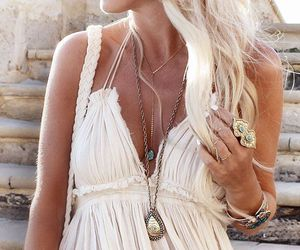 accessories, summer, and dress image