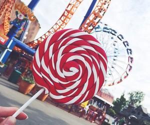 sweet, food, and lollipop image