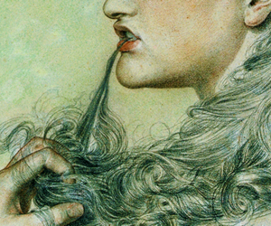 art, Frederick Sandys, and proud maisie image