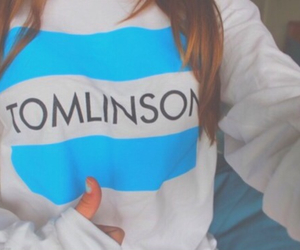 tomlinson, one direction, and louis tomlinson image
