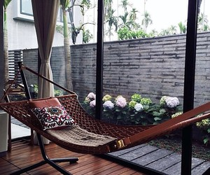 hammock, home, and house image