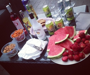 fruit, summer, and alcohol image