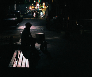 analog, indie, and night image