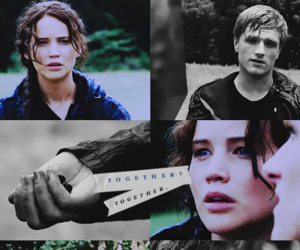 hunger games, the hunger games, and peeta mellark image
