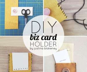 business, card, and diy image