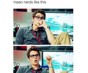 nerd and teen wolf image