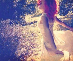 rihanna and red hair image