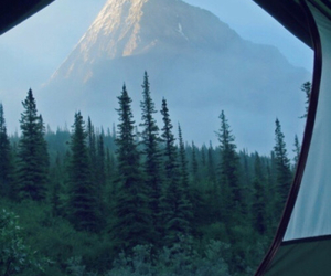 mountains, nature, and camping image