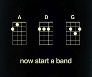 band, chords, and funny image